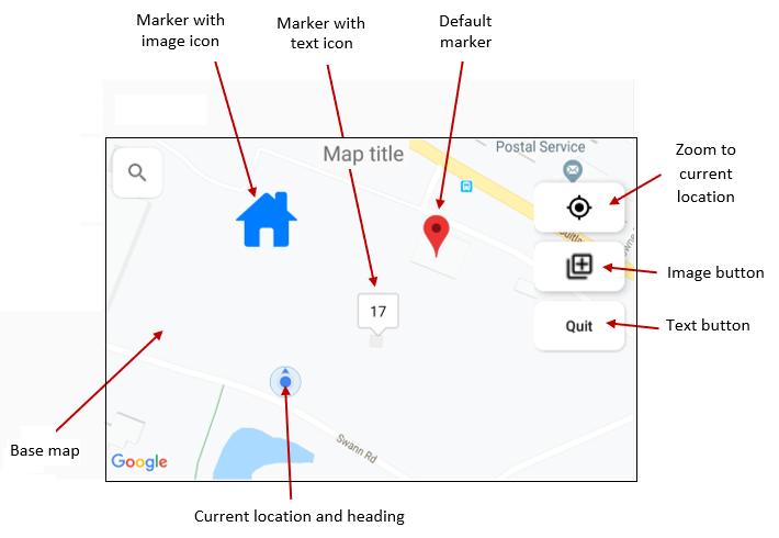 Maps Cspro Help